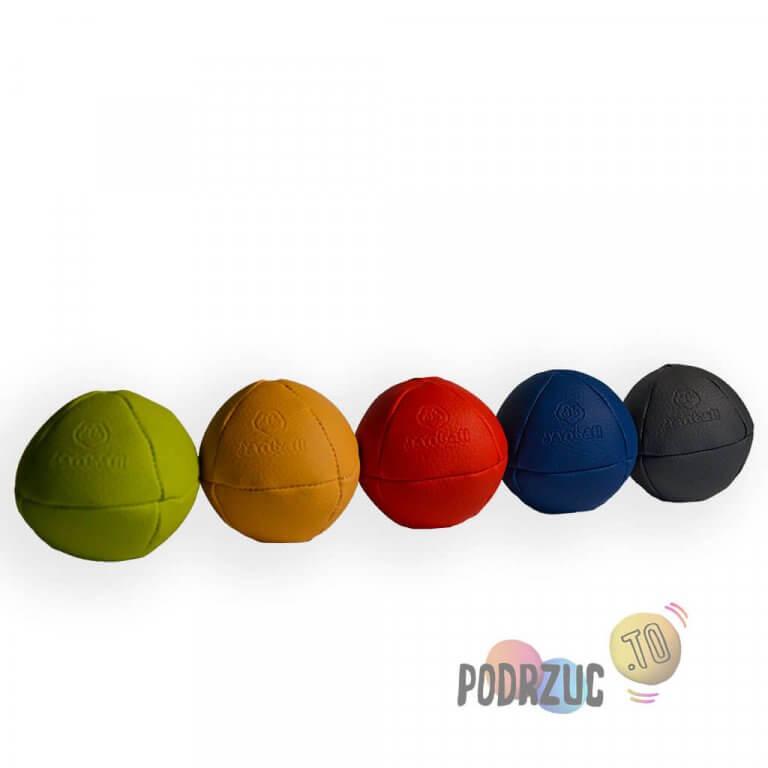 Pięć solidnych piłek do żonglowania