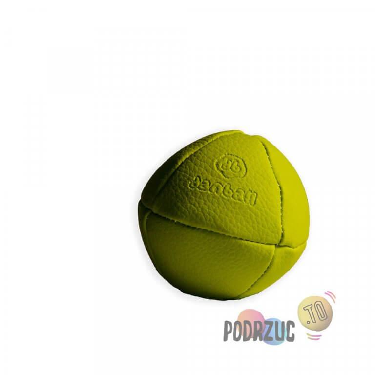 Zielona solidna piłka do żonglowania