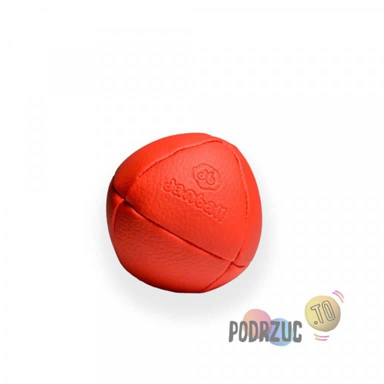 Czerwona solidna piłka do żonglowania