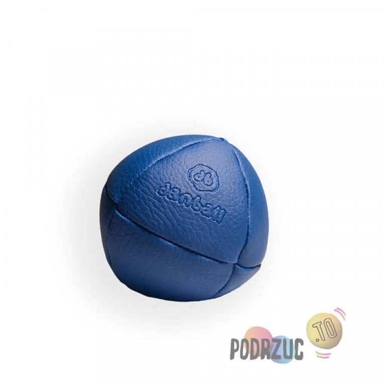 Niebieska solidna piłka do żonglowania
