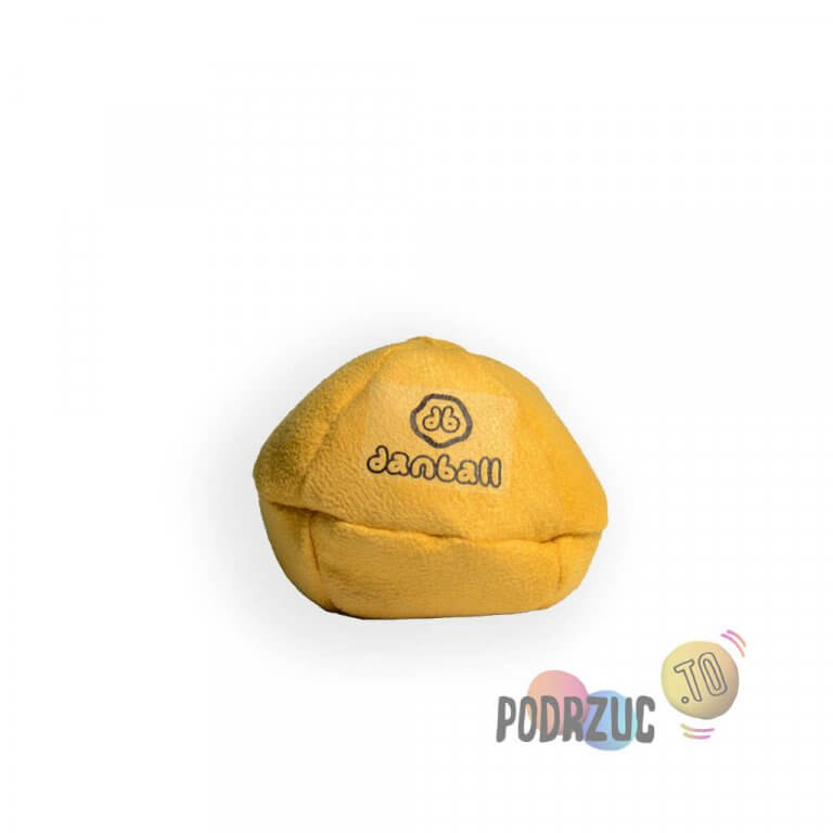 Piłka w kolorze żółtym do żonglowania