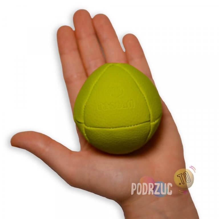 zielona piłka do żonglowania Danball solid