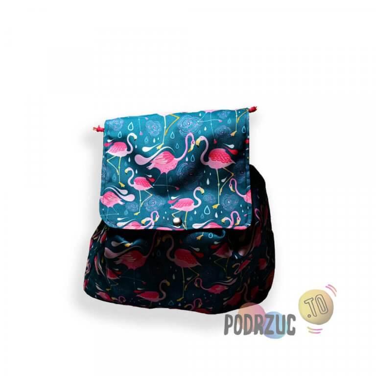 Plecak - Flamingi