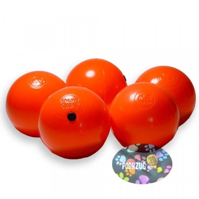 Meow Ball Piłki do żonglowania Rusałki pomarańczowe Podrzuc.to