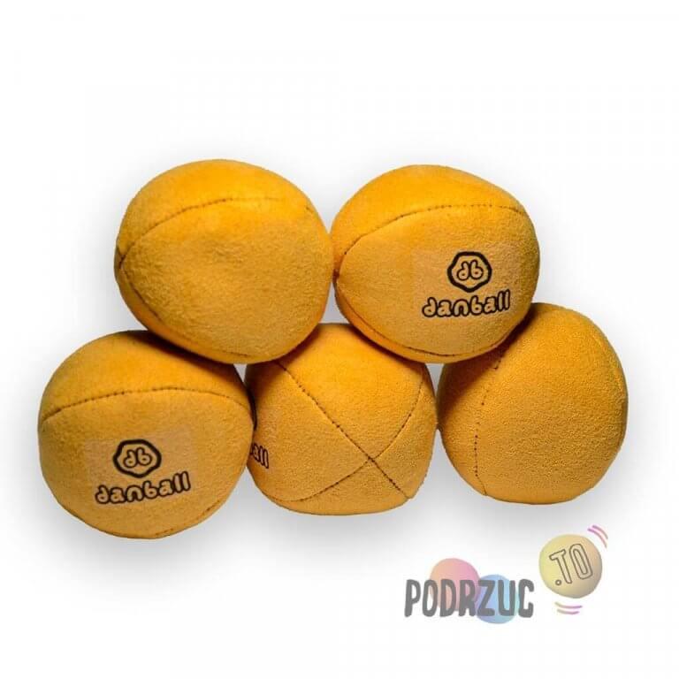 Piłki do żonglowania dla dziecka żołte danball XS Podrzuc.to