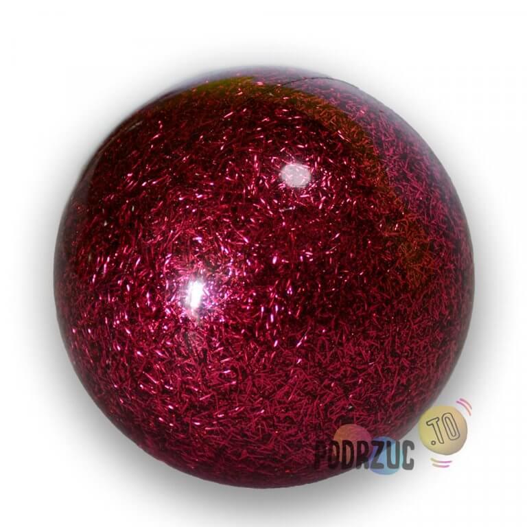 Stage ball 8cm 80mm Piłki do żonglerki brokat Rose Różowa podrzuc.to