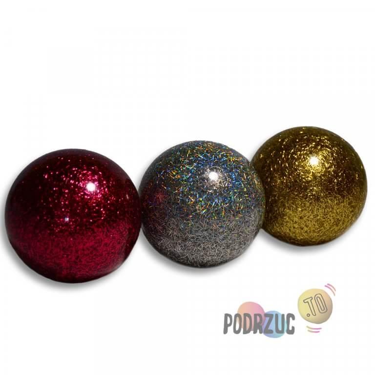 Stage ball 8cm 80mm Piłki do żonglerki brokat podrzuc.to