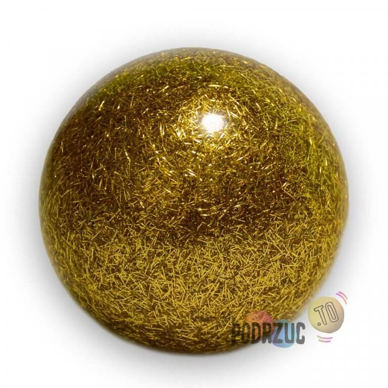 Stage ball 8cm 80mm Piłki do żonglerki brokat złota podrzuc.to